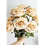 Sweet-Home-Deco-18-Princess-Diana-Rose-Silk-Artificial-Flower-Valentines-Day-10-Stems10-Flower-Heads-The-Most-Beautiful-Roses-for-WeddingHome-Decor-Vintage-Gold