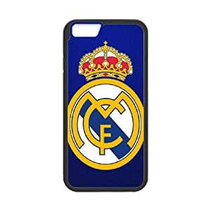 Language still DIY Case Real Madrid CF For iPhone 6 Plus 5.5 Inch QQW833015