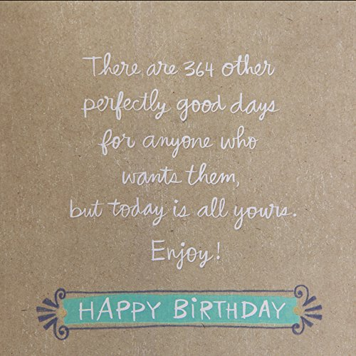 Hallmark Birthday Greeting Card for Her (Today is a Good Day) Photo #6