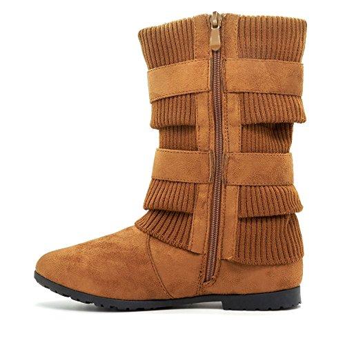 London Footwear , Bottes Souples femme peau