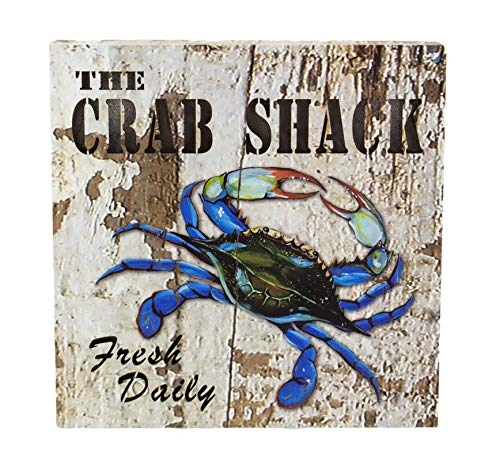 Two Kings The Crab Shack Fresh Daily LED Lighted Pressed Wood Sign