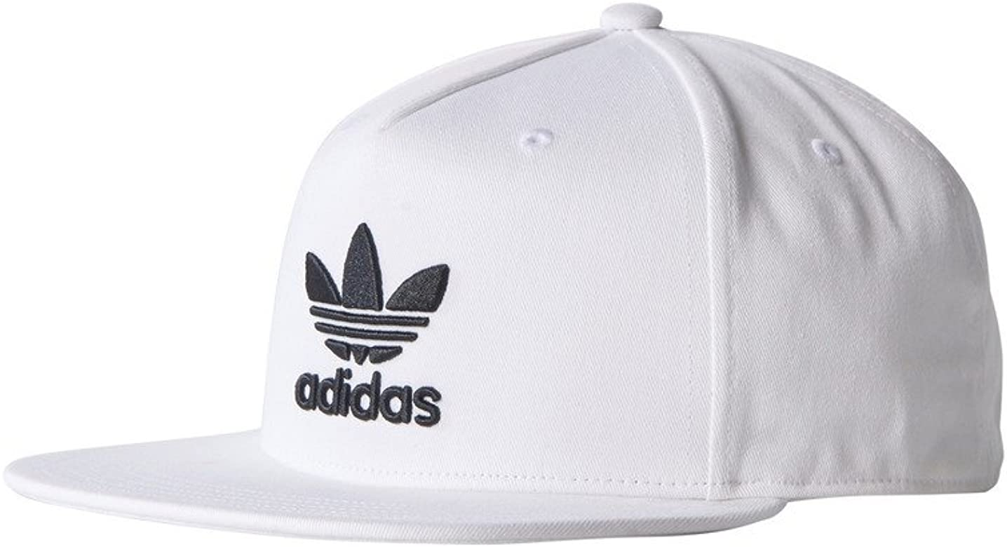 adidas AC Tre Flat Gorra de Tenis, , Blanco / Negro, OSFW: Amazon ...