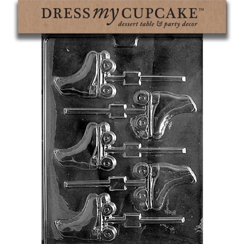 - Dress My Cupcake Chocolate Candy Mold, Roller Skates