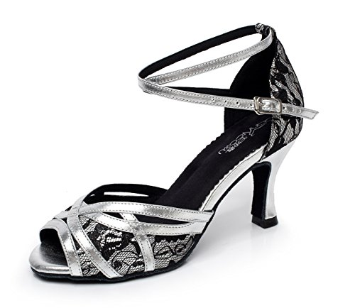 Samba De Tango Cruzada Modern heeled7 JSHOE del Altos De Zapatos La Las Tacones UK5 Hebilla Mujeres De Correa Sandalias Jazz Silver La 5cm Metal La Zapatos Salsa EU38 Our39 De De De Baile 5 fxgPxaBw8q