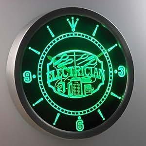 VV modern/contemporáneo/retro de acrílico/de aluminio reloj de pared redondo 10, rosso