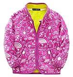 Happy Cherry Kids Winter Fleece Jacket Warm Long Sleeve Zip...