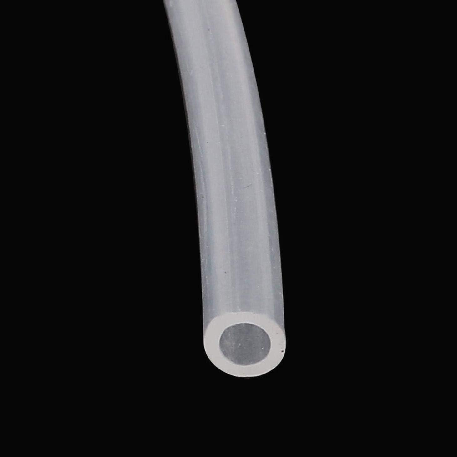 ZOZOSEP 2 Metros de Largo a15121600ux1000 3 mm x 5 mm de Silicona Tubo de vac/ío de Cerveza Bomba de Aire Manguera del Agua transl/úcidos