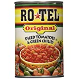RO*TEL Diced Tomatoes & Green Chilies-8/10oz cans