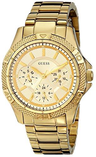 GUESS U0235L5 Feminine Mid Size Gold Tone