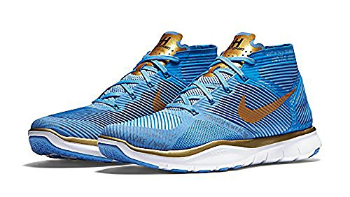 Nike Free Train Instinct Hart, Vlr Bleu / Métallisé Or-pht Bl-vlt, 6
