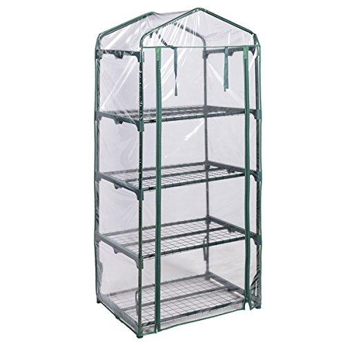 Portable Greenhouse For Patio : Giantex portable mini walk in outdoor shelves greenhouse