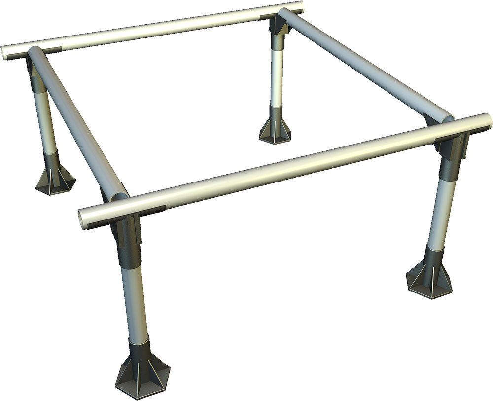 General Hydroponics Snapture Snapstand/Tray Stand, 4 x 4-Feet