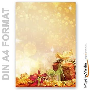 Motivpapier Weihnachten.Motivpapier Weihnachten Briefpapier Weihnachtsgeschenke 25 Blatt