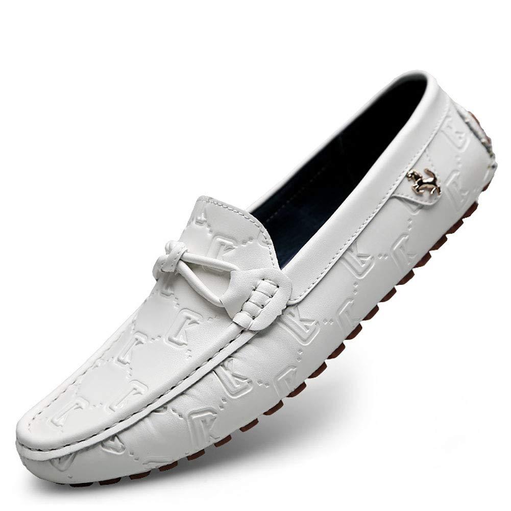 Herrenschuhe Frühling Herbst Komfort Fahr Loafers & Slip Ons Fahr Komfort Schuhe Casual Büro & Karriere Party Große Größe Weiß 91b97f