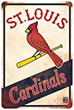 St Louis Cardinals Retro Sign 8 X 12
