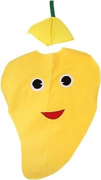 Disfraz de Mango Fruta Traje Atractivo No Tejida Dibujo Animado ...