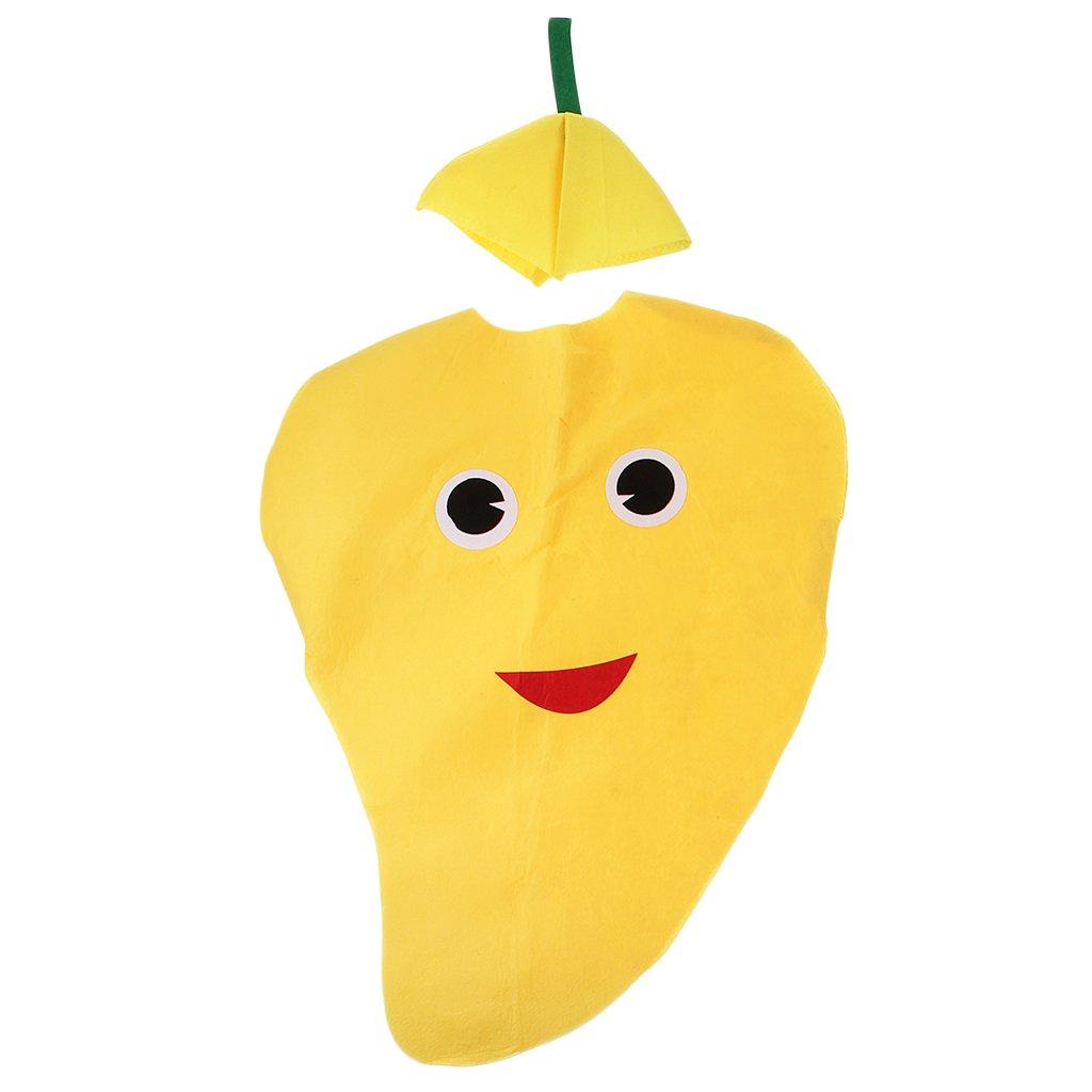 Disfraz De Mango Fruta Traje Atractivo No Tejida Dibujo
