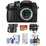 Panasonic Lumix DMC-GH4 Digital Camera Body Only, Black. Value Kit with Acc