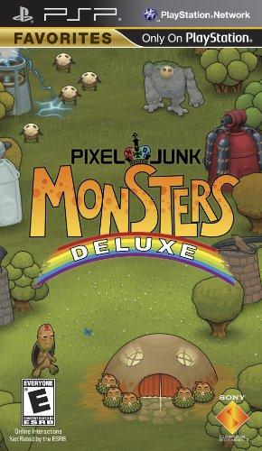 Price comparison product image Pixel Junk Monsters Deluxe - Sony PSP
