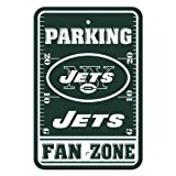 Fremont Die NFL New York Jets Plastic Parking Signs