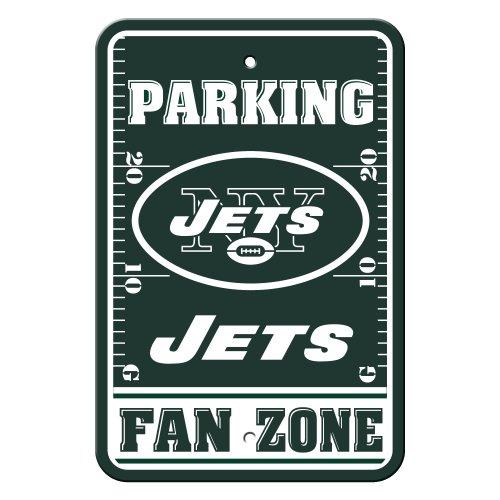 NFL New York Jets Plastic Parking Signs
