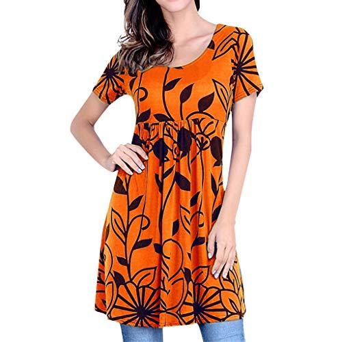 (MURTIAL Tank Tops Sequin top Crop Tops Cute Tops for Women high Tops for Men Halter top Tankini Tops Halter Tops Orange)