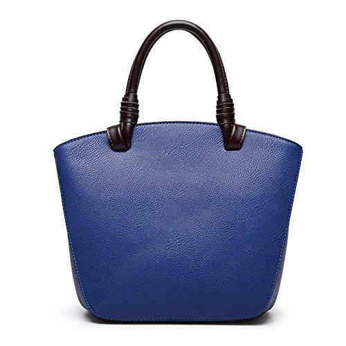 Shell Sac Simple épaule De Femmes à Main Blue bag ZLL Bandoulière Sac Women's Et Polyvalent Simple wAqxFUE6