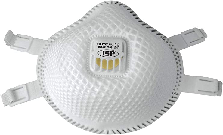 pack de 5 masques de protection respiratoire ffp3