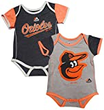 Baltimore Orioles Baby / Infant 2 Piece Creeper Set
