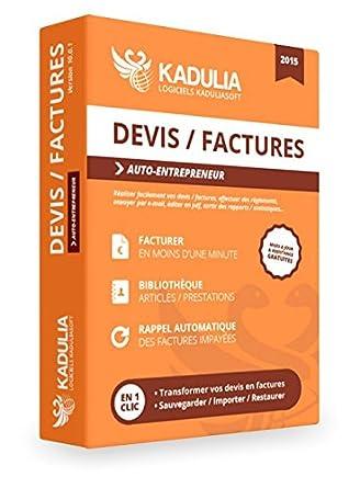 Logiciel De Devisfactures Pour Auto Entrepreneur Kaduliasoft