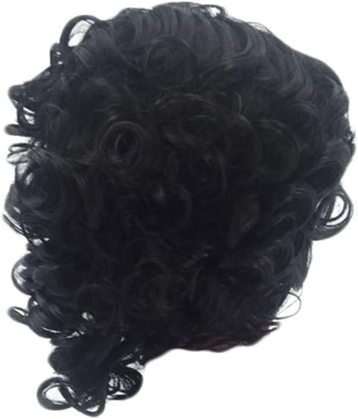 Peluca de pelo sintético de YONSIN para mujer, pelo corto y ...