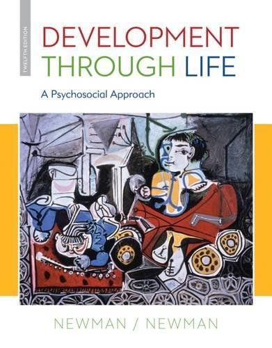 1285459962 - Development Through Life: A Psychosocial Approach