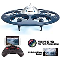 Babrit U845 Wifi 2.4GHZ UFO RC Aircraft Remote Control Drone RC Quadcopter Aerial Vehicle-Upgrade version
