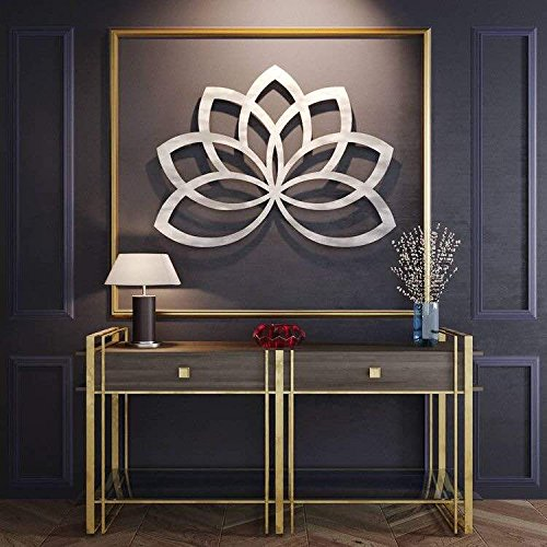 Elegant Lotus Wall Sculpture - Perfect for Decor - decorative lotus flower wall art