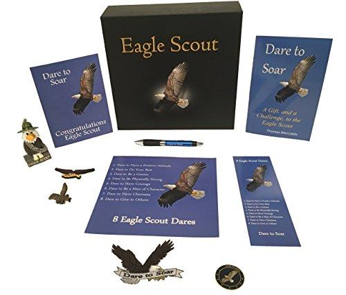 - Eagle Scout Dare to Soar Keepsake Box Set (11 Total Items!)