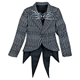 Disney Jack Skellington Costume Jacket for Kids - The Nightmare Before Christmas Size 7/8 Multi