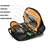 Orbit Concepts JETPACK-PRIME-XL-BLK Jetpack Prime DJ Backpack for Laptop/Mixers, DV's Systems/Vinyl Records/Headphones/Cables/Accessories and More