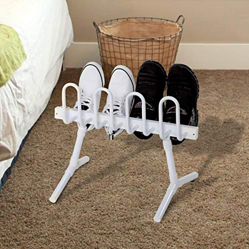 - Tangkula Electric Shoe Dryer Free Standing Shoes or Boots Dehumidifier and Hanger Shoe Warmer Dryer Drying Rack (8-Shoe)