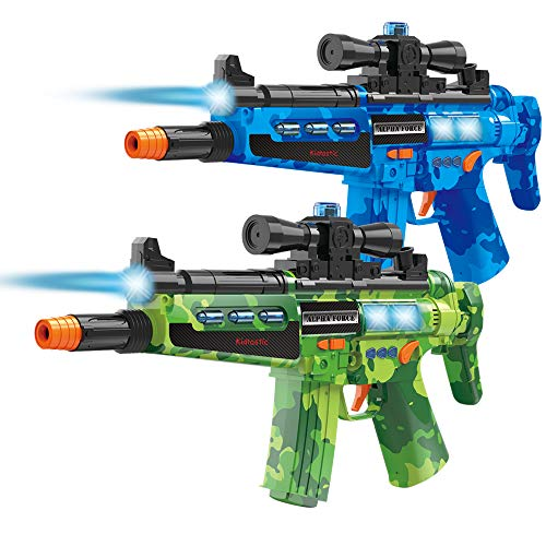 Kidtastic Laser Tag Gun Blasters – Laser Tag for Kids 2 Player – Infrared Sensor, NO Laser Beam, No Vest Needed – Boys Toys Ages 6 8 – Indoor & Outdoor Multiplayer Fun for Kids, Teenagers & Adults ()