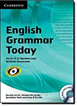Book English Grammar Today with CD-ROM: An A-Z of Spoken and Written Grammar T.X.T