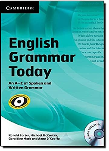 English Grammar Today with CD-ROM: An A–Z of Spoken and Written Grammar (Book & CD Rom) 9780521731751 Communications at amazon