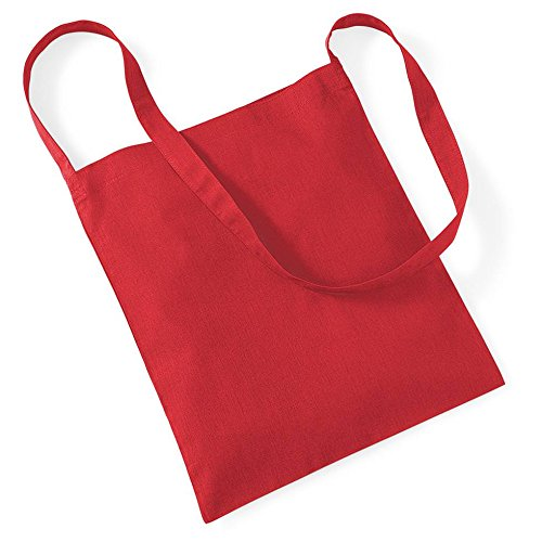 Westford Mill Einkaufstasche für das Leben. Bright Red