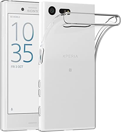 Ajuste exacto: Forma ajustable a sus Sony Xperia X Compact con cortes de precisión para todos los bo