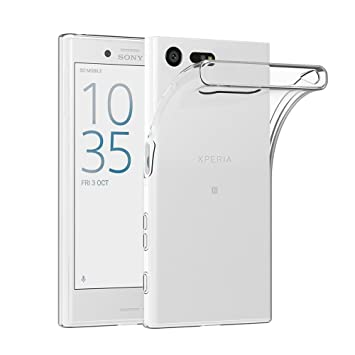 AICEK Funda Sony Xperia X Compact, Sony Xperia X Compact Funda Transparente Gel Silicona Sony Xperia X Compact Premium Carcasa para Xperia X Compact