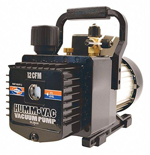 Uniweld HVP12 Pump, Vacuum Pump, Rotary Vane, 12.0 CFM, 115/220VAC, 2 Stage,Multi