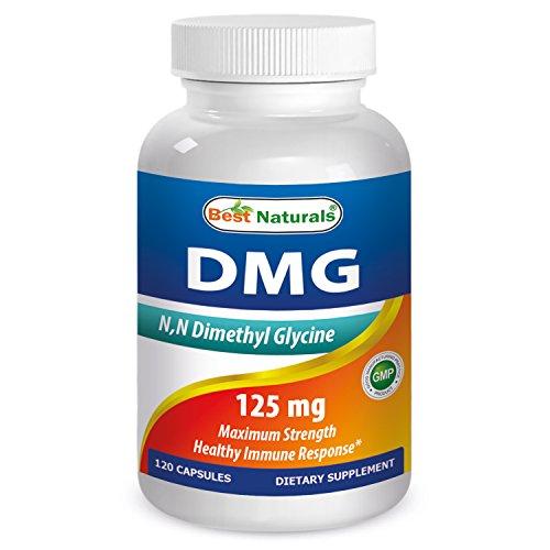 Best Naturals DMG 125 mg 120 Capsules