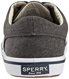 Sperry Mens Striper II CVO Sneaker, Black, 8.5