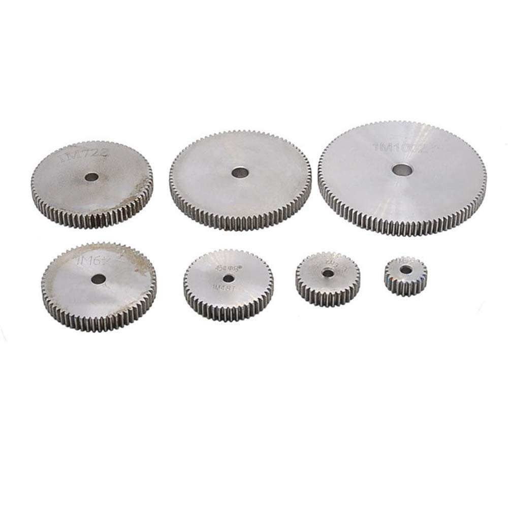 1 Mod 70T Spur Gear Steel Motor Pinion Gear Thickness 10mm Outer Dia 72mm x 1Pcs