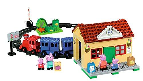 Big Peppa Pig Train Station Building Sets by BIG