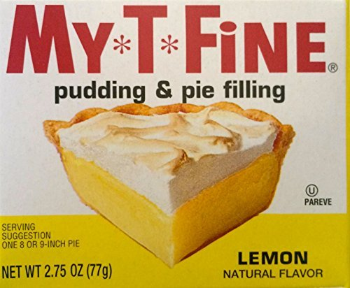 (Lemon Pudding and Pie Filling Mix By My T Fine - 2.75 Ounce Box - 2 Box Pack by My-T-Fine)
